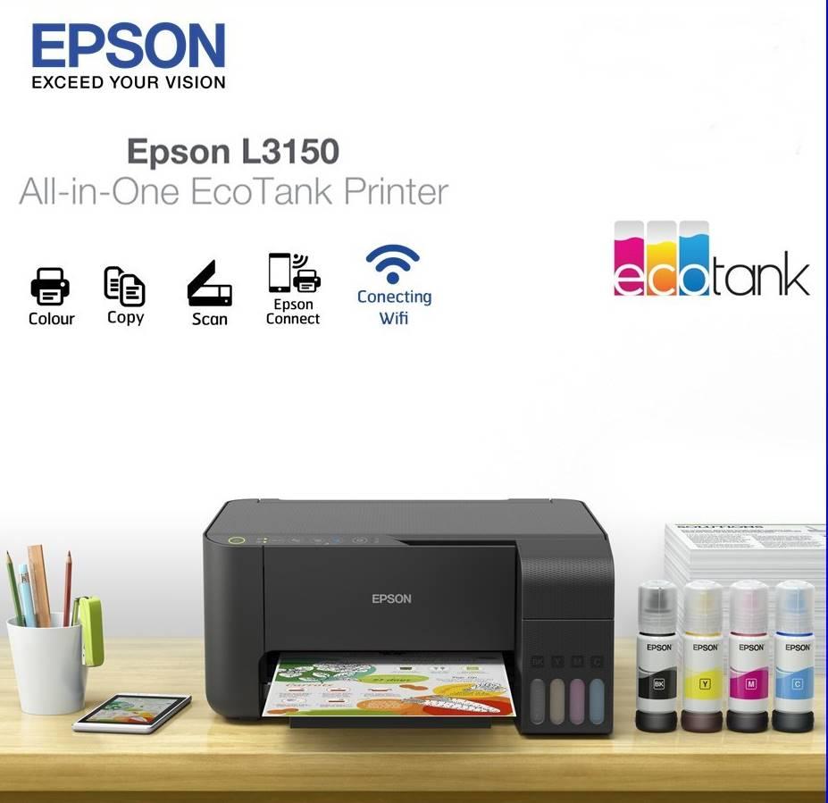 Epson EcoTank L3150 Printer - TDK Computers